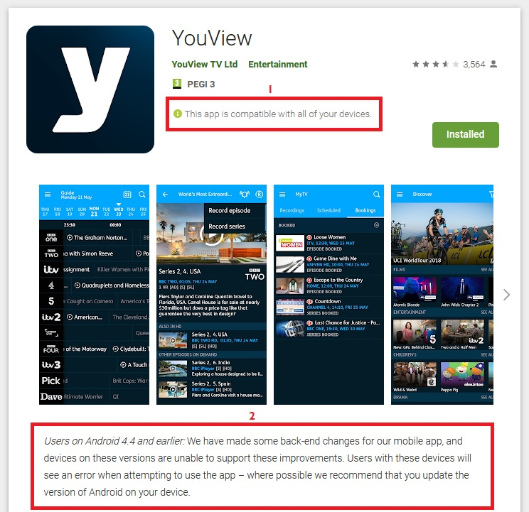 App 'Temporarily' Unavailable - Page 2 — YouView Community