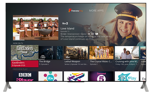 Netgem launches new Freeview Play and 4k based tv service