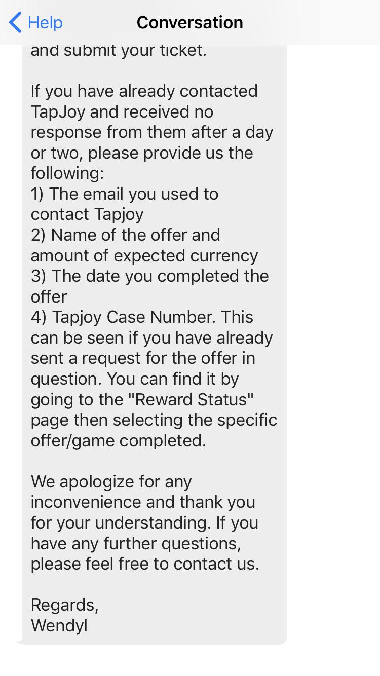 Tapjoy No Gold - Page 2 — Glu Communities