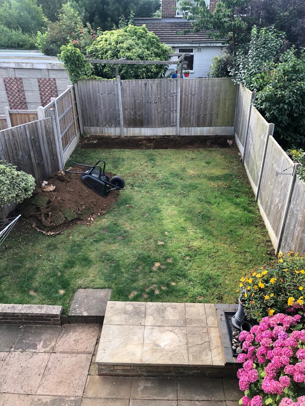Raised Rendered Concrete Garden Beds Foundation Wall Help Needed Bbc Gardeners World Magazine