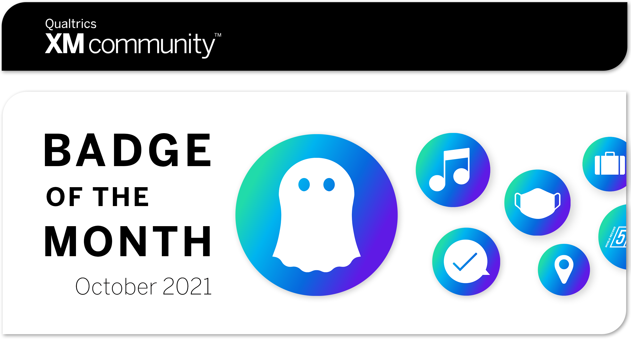 Badge of the Month, October 2021