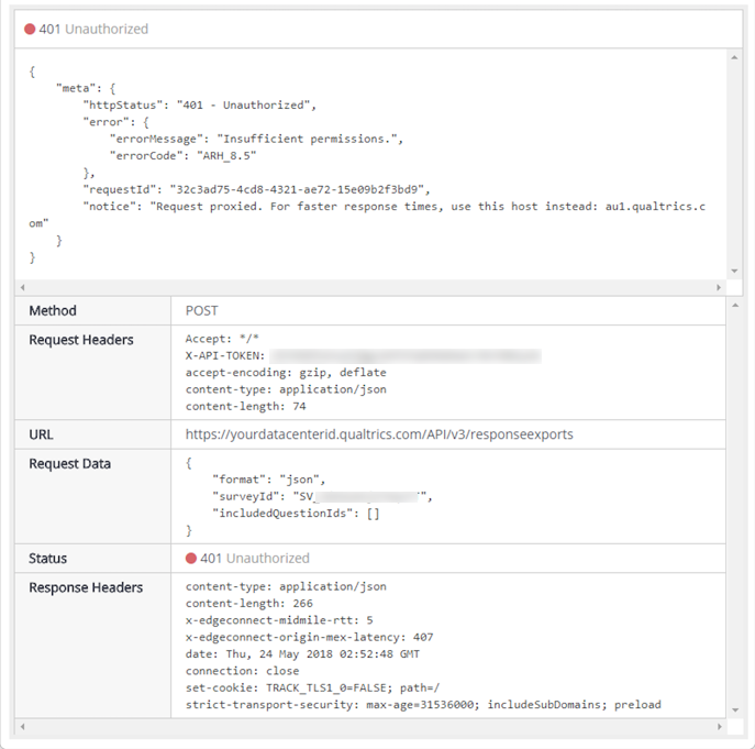 Using the API in PHP Web App to Get Survey Responses