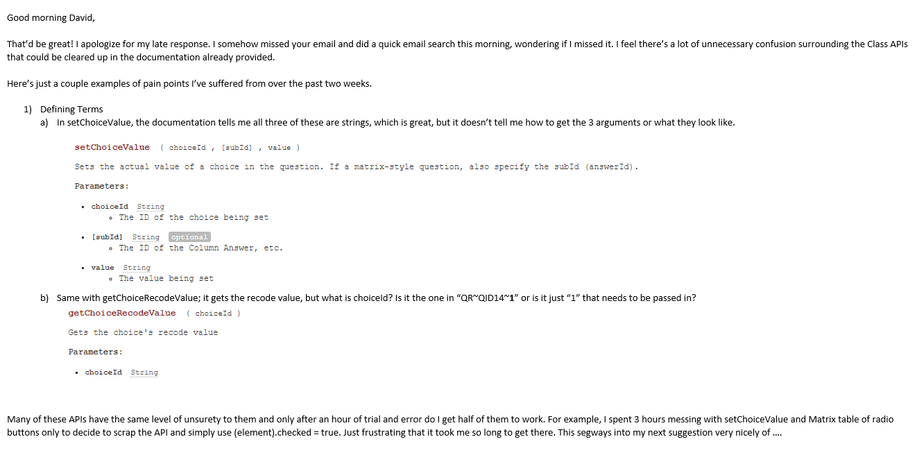 Javascript API calls syntax — Qualtrics Community