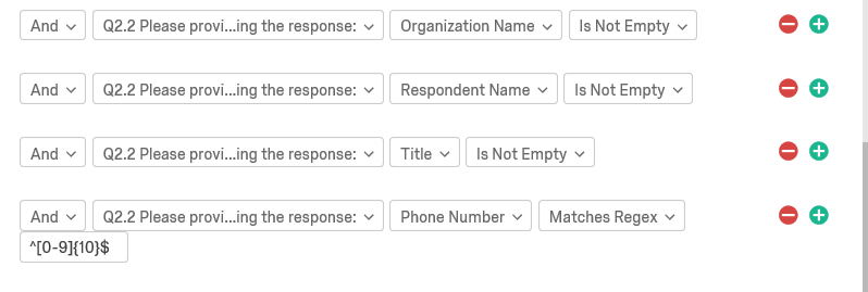 I want to add a custom validation to ensure 10 digits are entered in