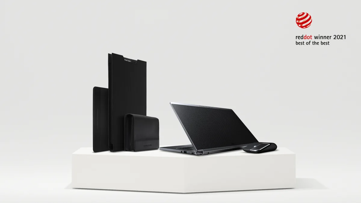 Porsche Design Acer Book RS and TravelPack RS