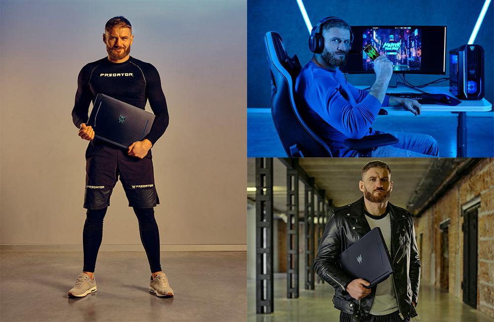Jan Bachowicz UFC Champion gamer