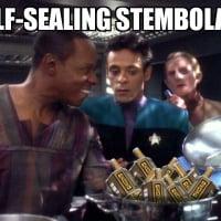 Sisko's Self-Sealing Stembolaya [FF]