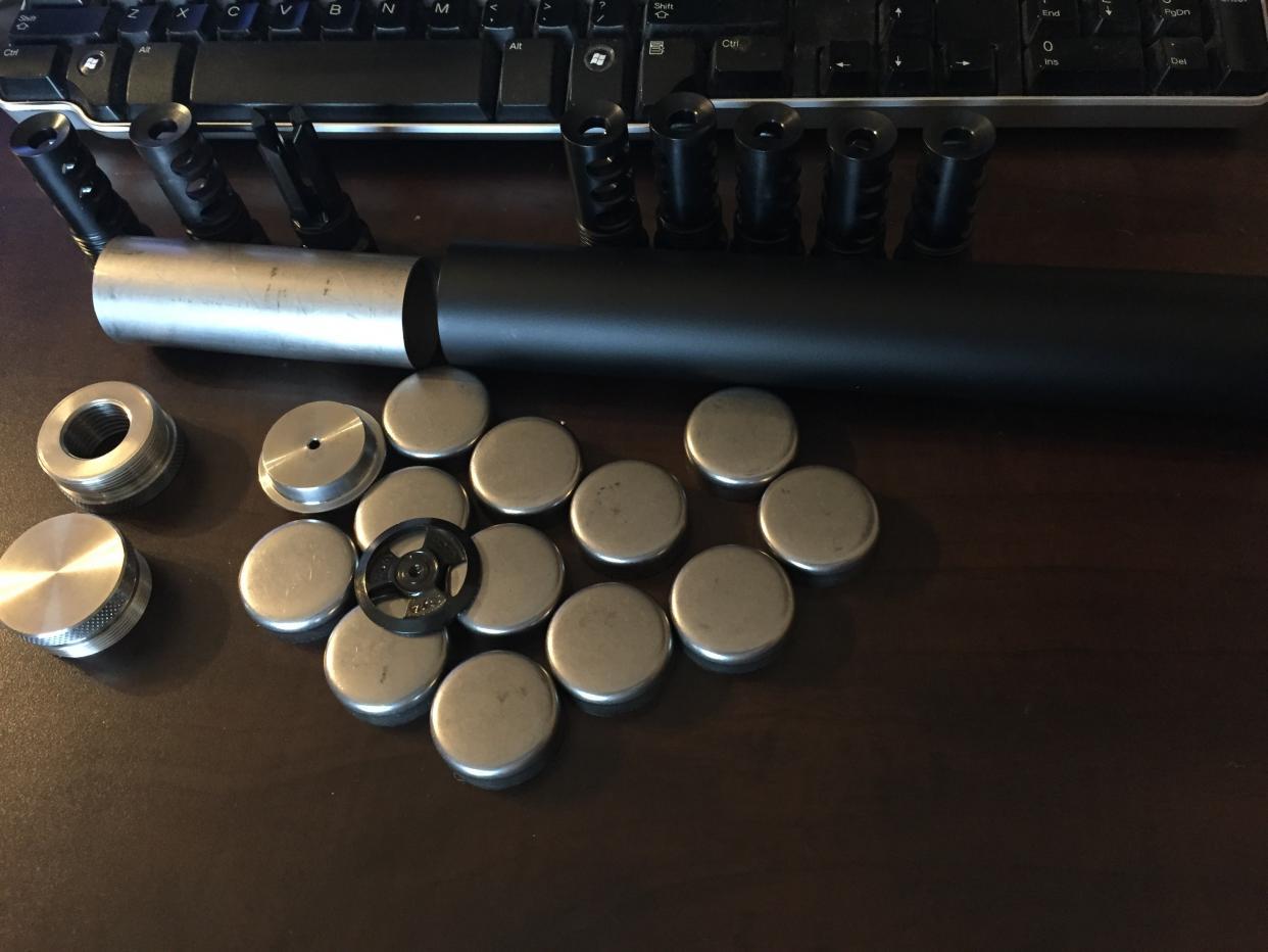 Form 1 Suppressor Build — gunsandammo
