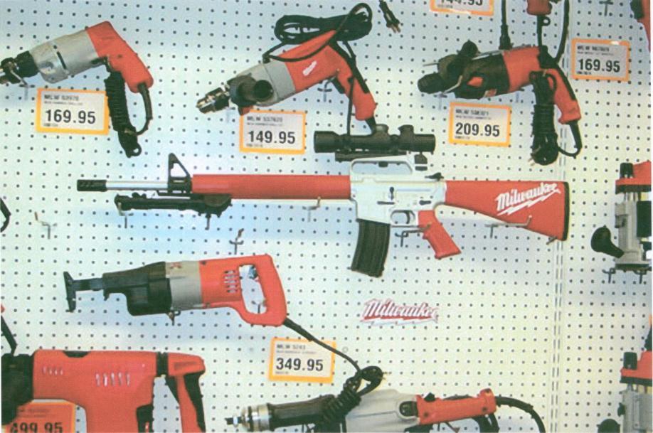 Milwaukee Rapid Fire Nail Gun Nail Ftempo