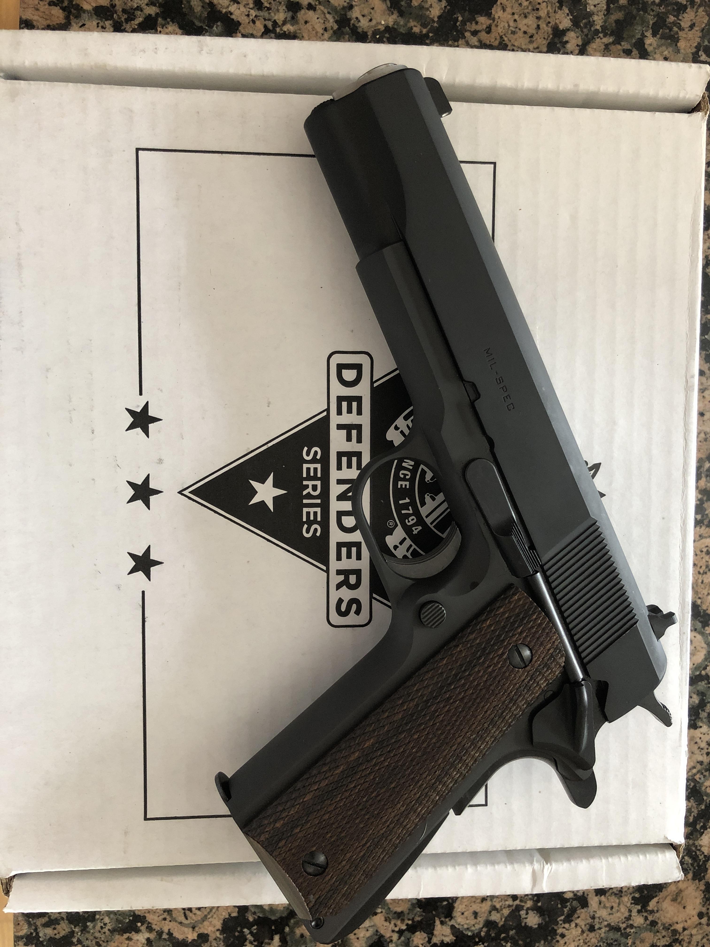 Springfield defender 1911 mil-spec — gunsandammo