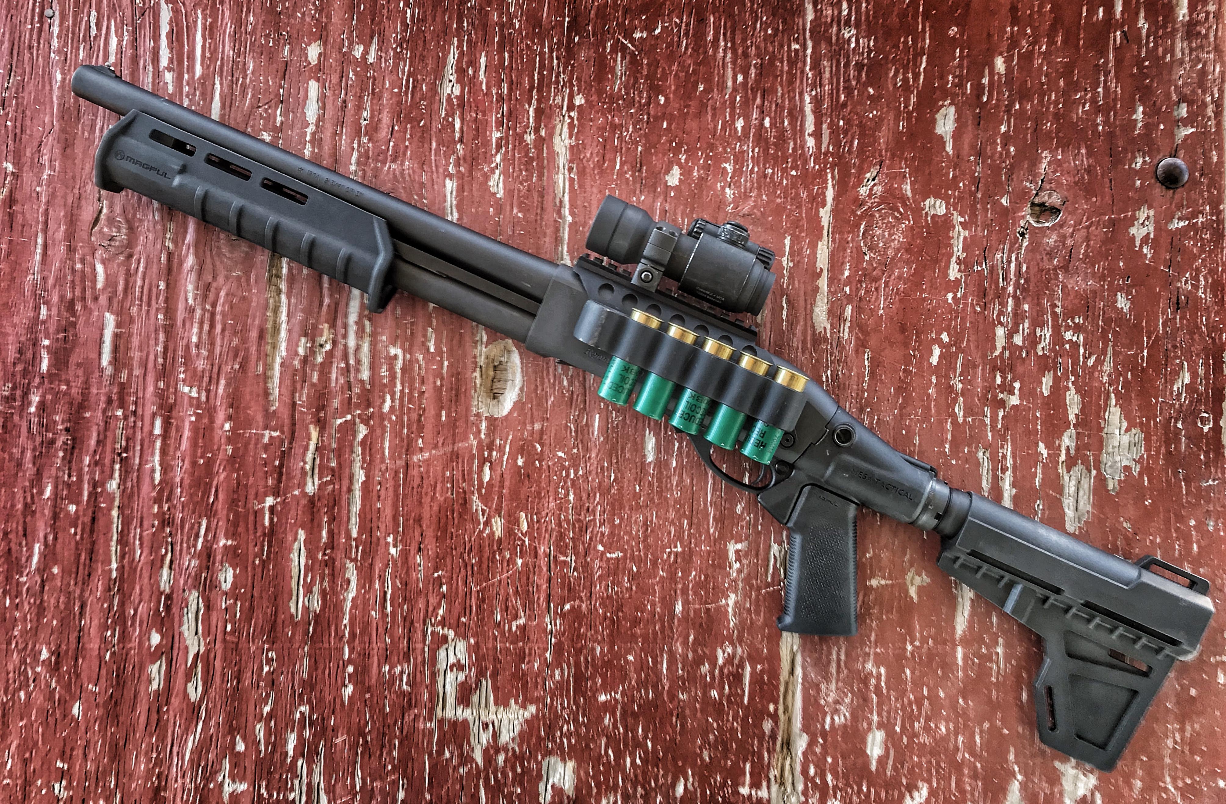 Remington 870 Tac-14 Modifications — gunsandammo