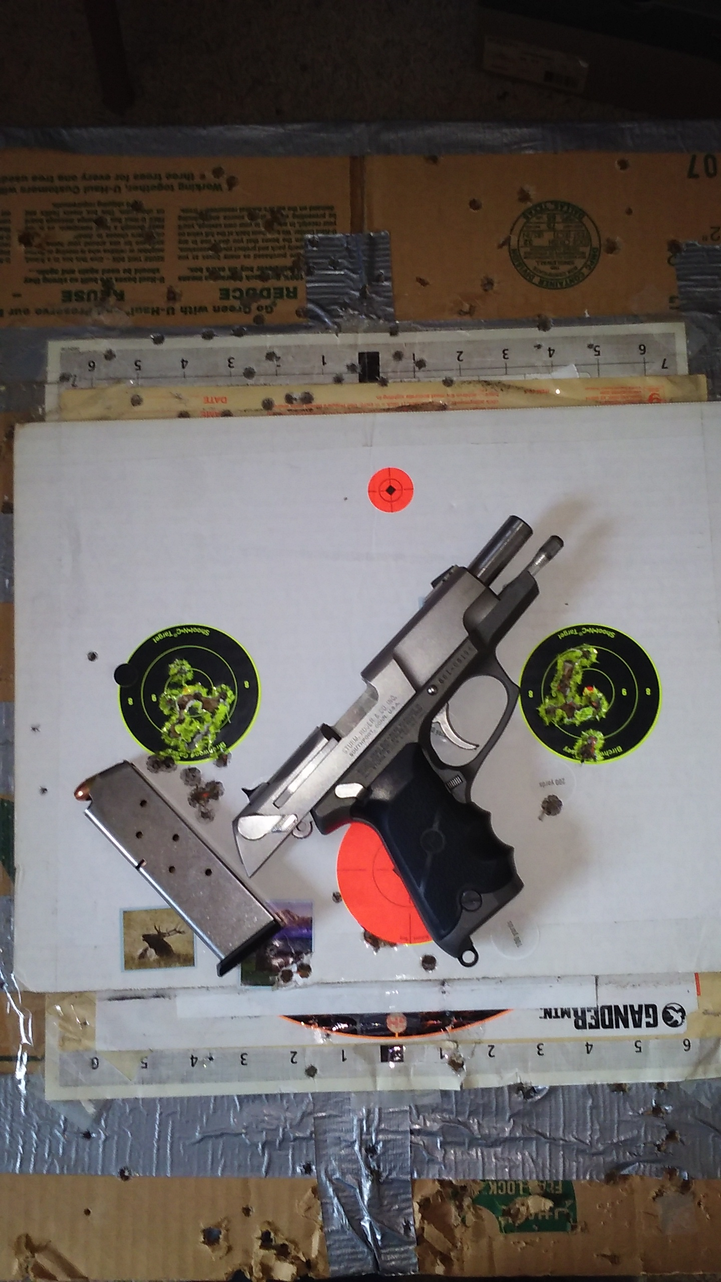 Range report, S&W 686+ 2 5