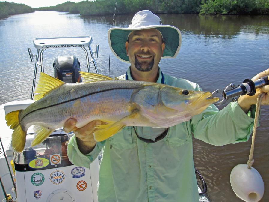 August fishing in chokoloskee everglades city and the for Chokoloskee fishing report