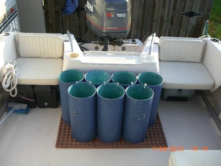 PVC for tank holders? — Florida Sportsman