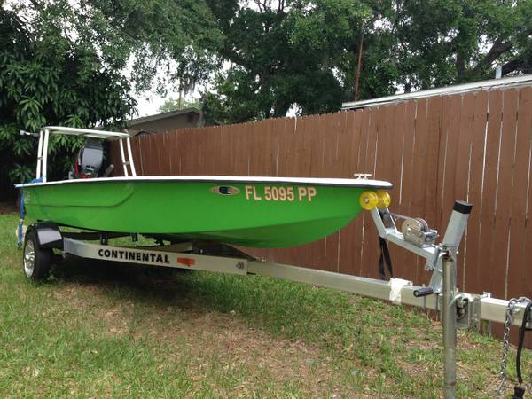2013 Ipb Inshore Power Boats W 04 Mercury 25 Two Stroke Florida
