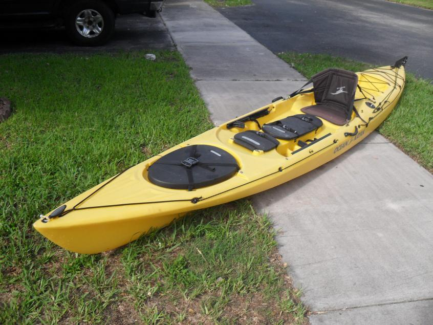 Ocean Kayak 15' Prowler with Rudder  $725 — Florida Sportsman