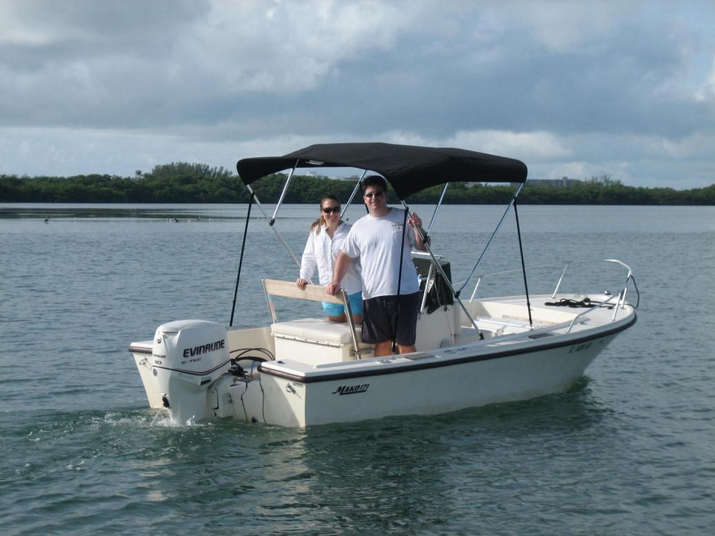 Mako 17 90 HP Evinrude Etec — Florida Sportsman