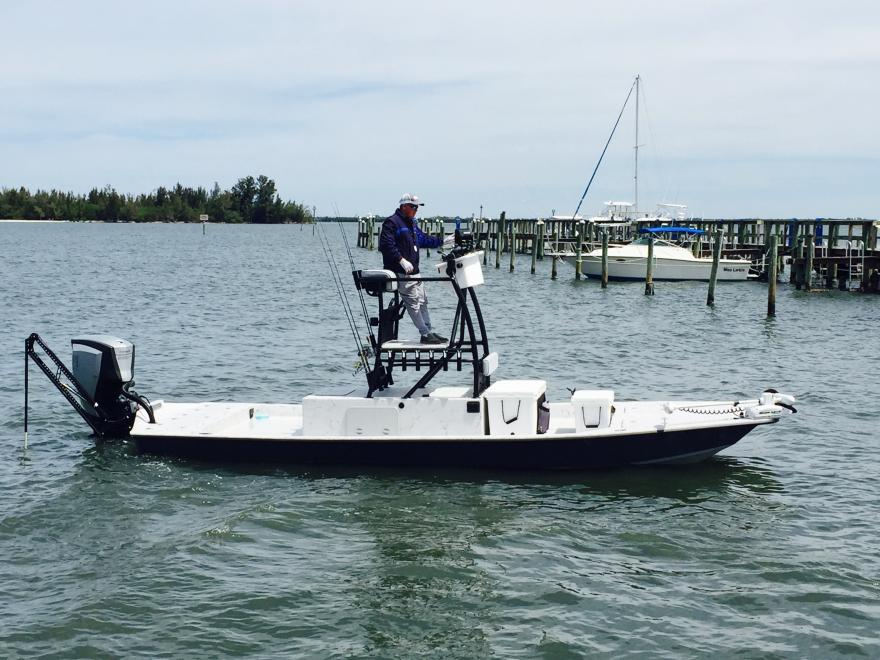 2015 23' Shoalwater Cat with 200HO G2 Evinrude $49,500