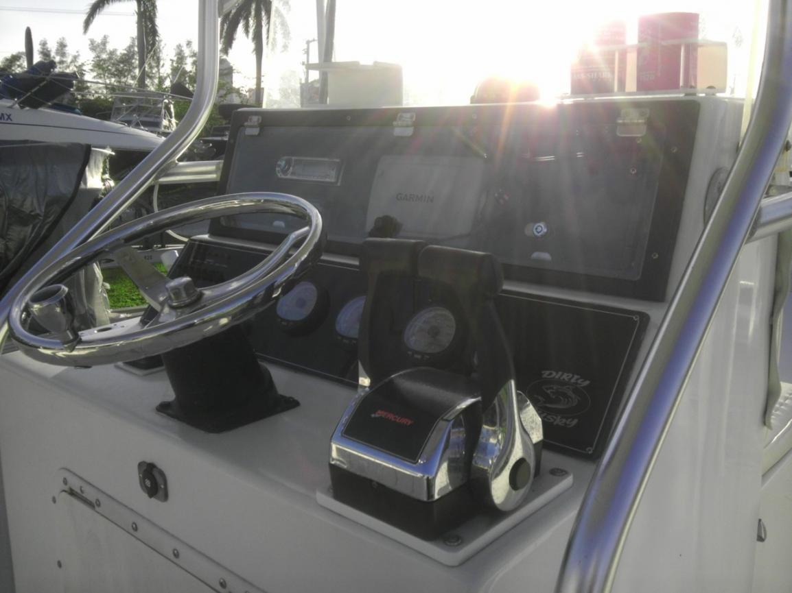 DUSKY 278 Twin 200 HP Mercury Optimax — Florida Sportsman