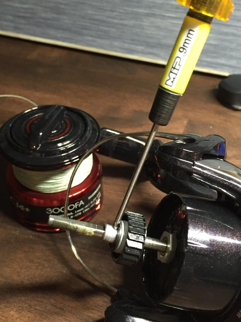 Stradic CI4+ teardown for maintenance (picture heavy) — Florida