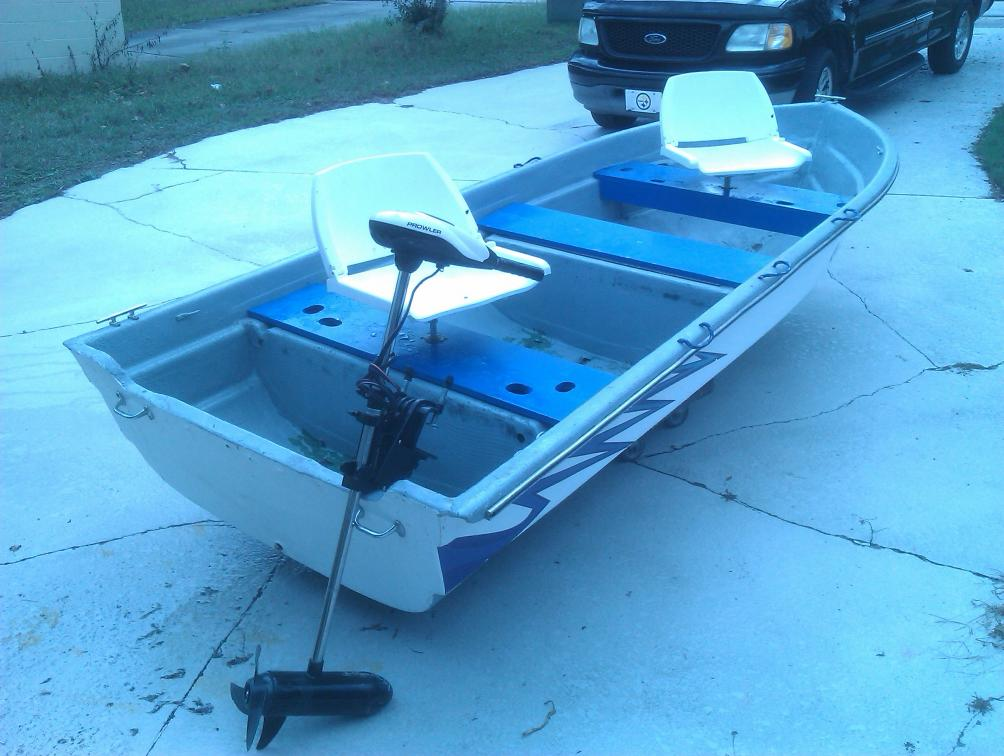12 Foot Sears Gamefisher And 45 Pound Trolling Motor Florida Sportsman