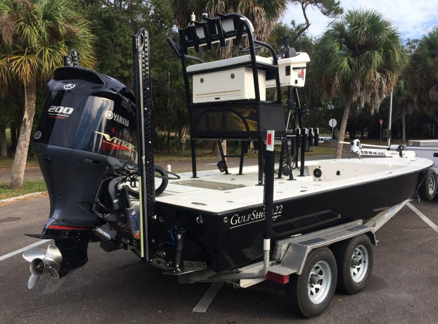 2015 22ft Young Gulfshore Bay Boat For Sale Yamaha 200 SHO