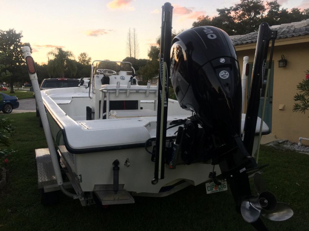 2003 Action Craft 1910 Coastal Bay 2017 Mercury 150 hp 4