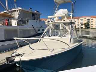For Sale: Oasis 27' Custom Express Fisherman - Single 315 HP Yanmar