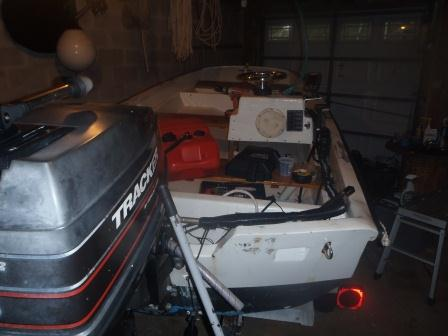 Dream Boat for the Creeks: Refurbishing my families 1961 13