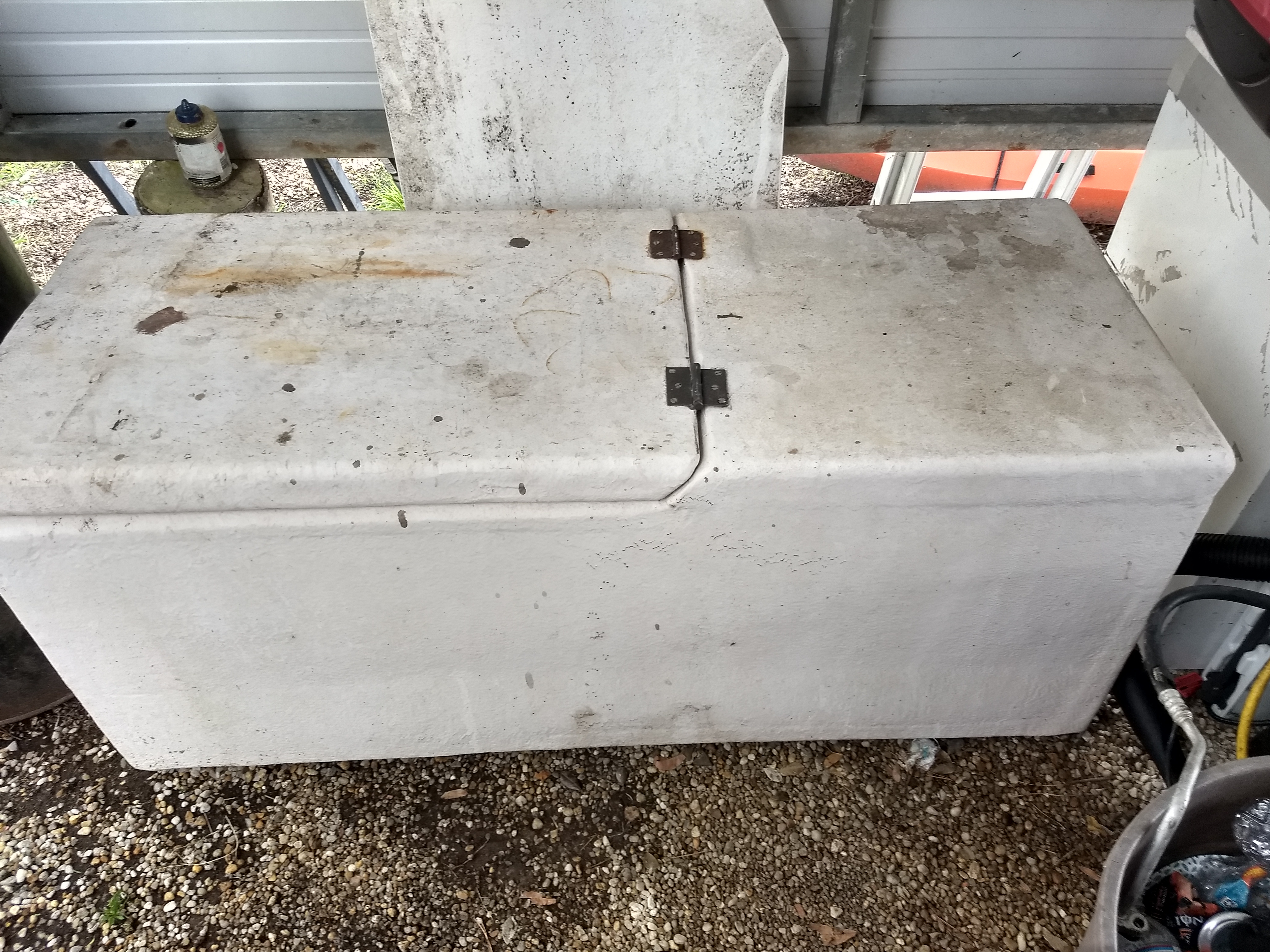 468 Quart Commercial Grade Coffin Box Fish Box Florida
