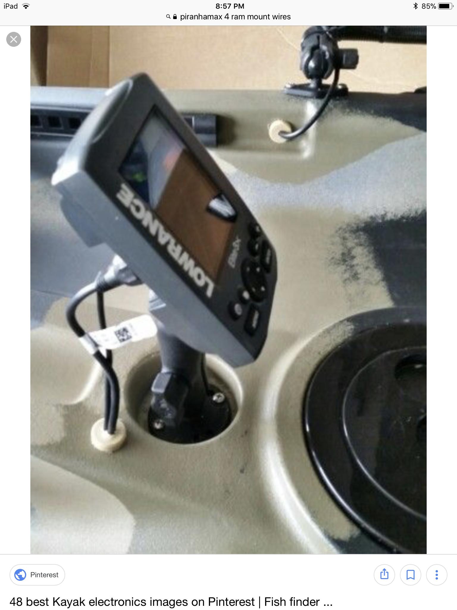 Wire or transducer pass thru plugs? See photo — Florida Sportsman