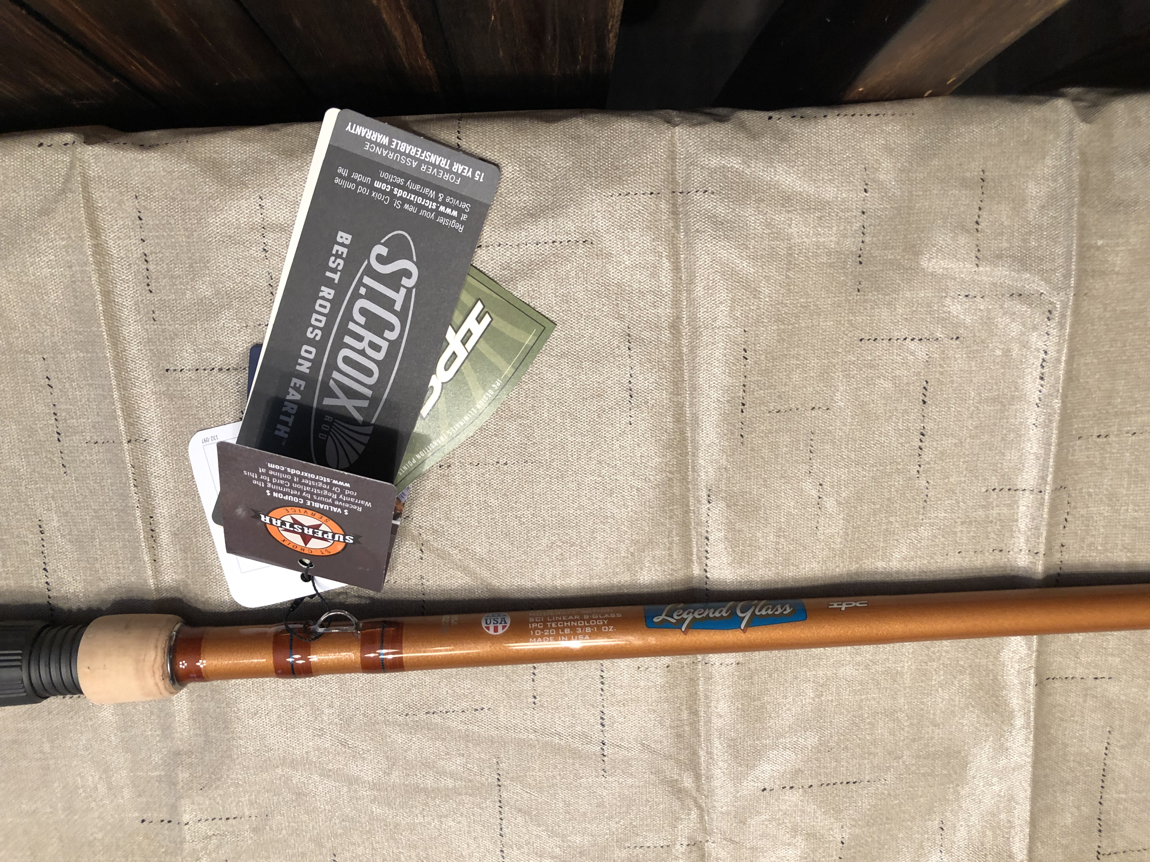 BRAND NEW St  Croix Legend Glass Cranking rods  7'4
