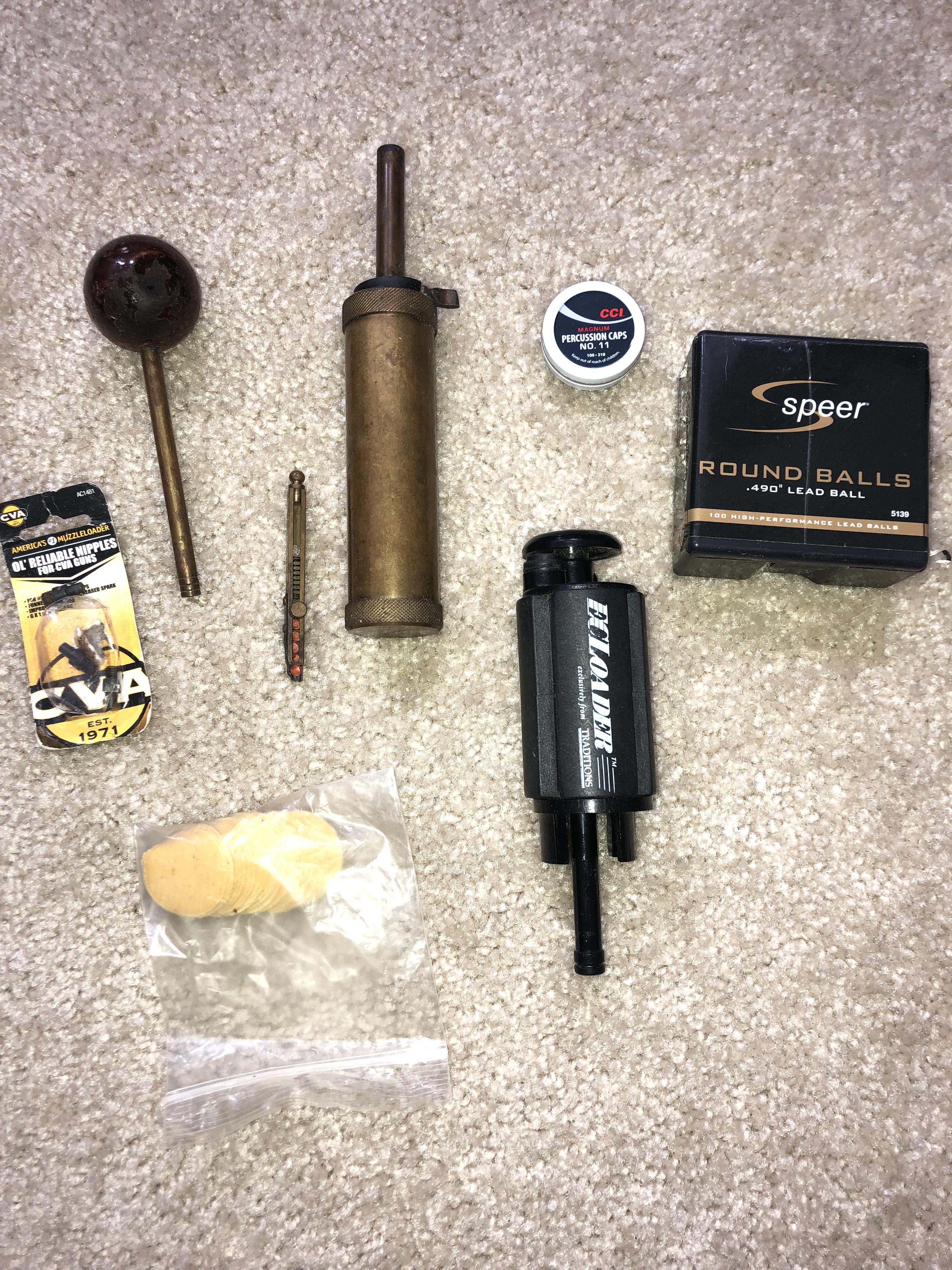 CVA Hawken Muzzle Loader with accessories $100 OBO — Florida