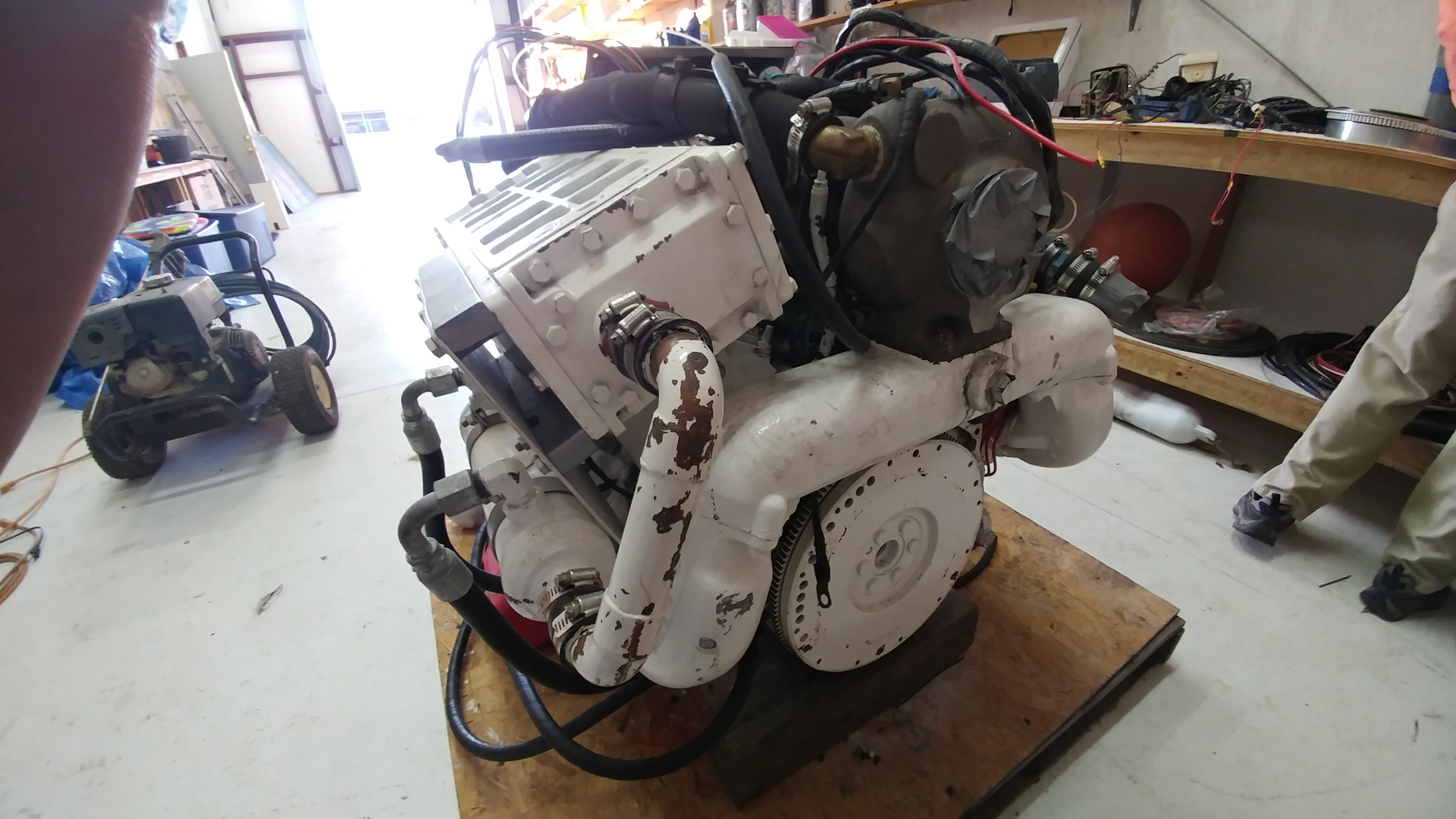 09 65l Gm Marine Turbo Diesel Florida Sportsman Wiring Gauge All Inclusive Ready To Drop In Your Boat It Is 310hp With Aprox 1500 Hrs Includes Gauges Intercooler Oil Cooler W Remote Filter