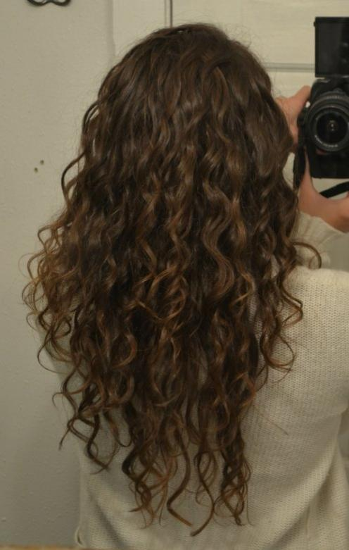 Long Layers On Natural Curly Hair