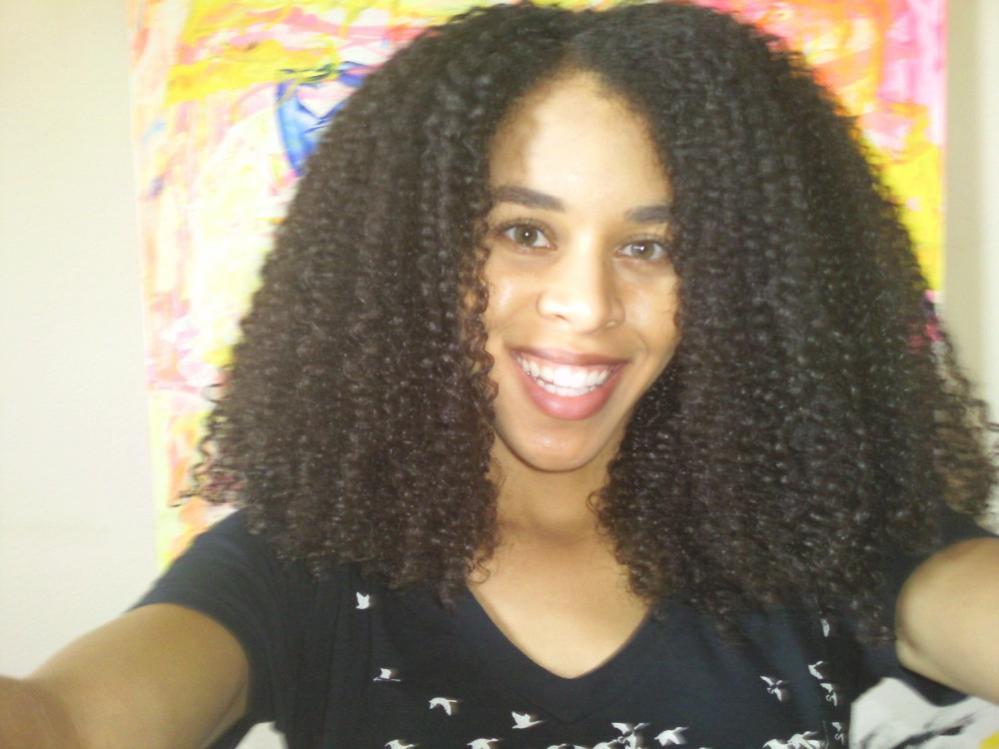 Natural Hair B Texture
