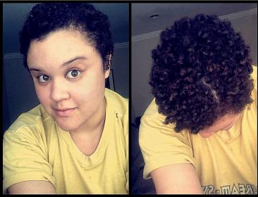 How To Straighten Very Short Natural Curly Hair Curltalk