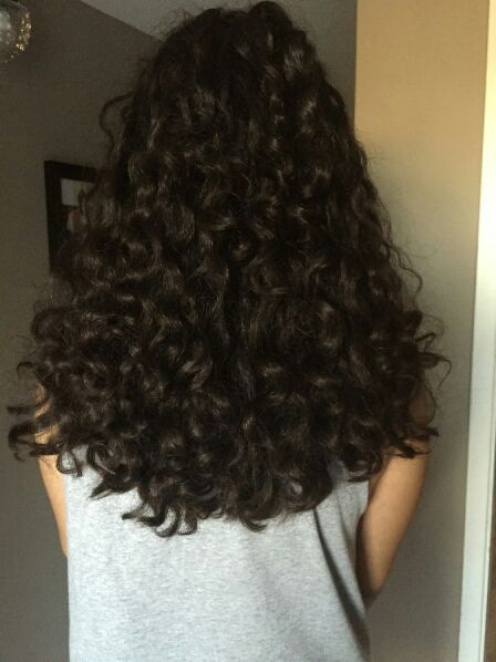 is your long curly hair angled front to back not working
