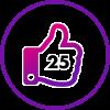 25 Likes