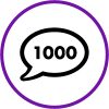 1000 Comments