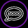 5000 Comments