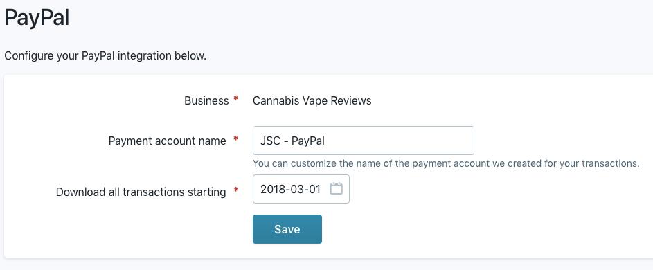 PayPal Integration — Wave Community