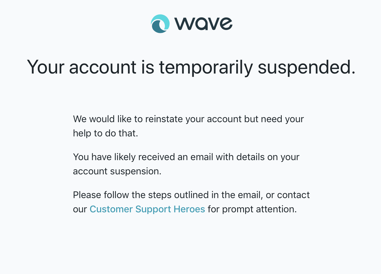0edc499b6ead Suspended Account — Wave Community