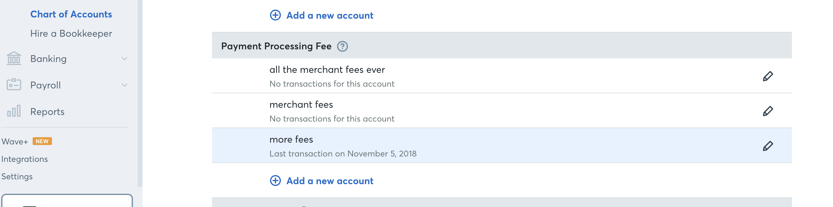 Fee You Will Be Able To Use These Particular Accounts Categorize The Transaction I Have Attached Two Screenshots Showing This As An Example