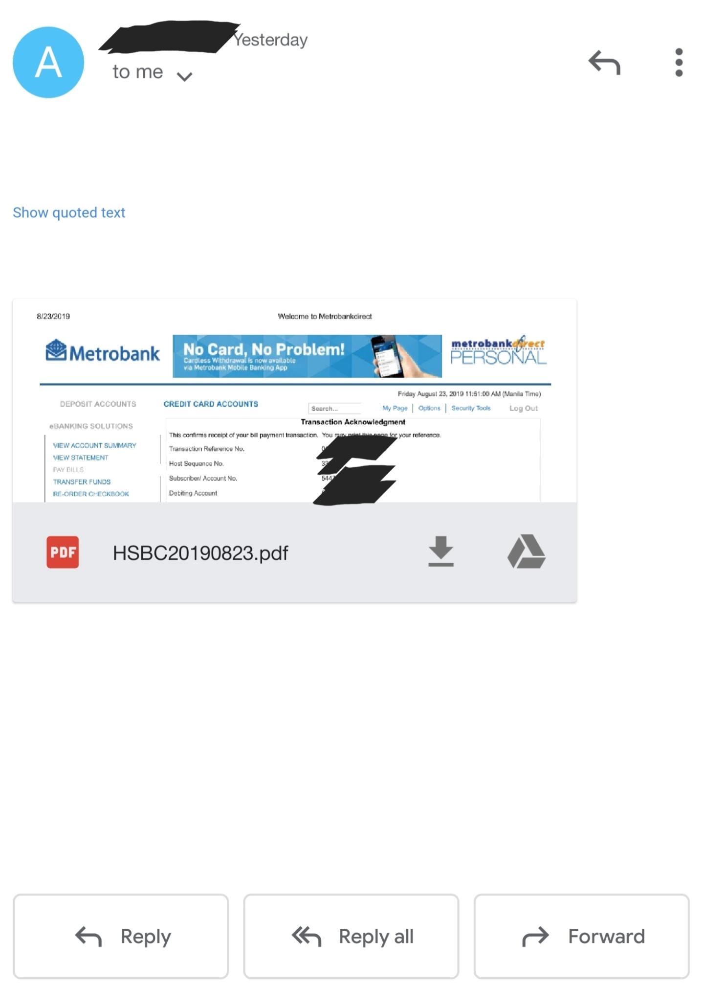 HSBC 滙豐 Hongkong and Shanghai Bank : Credit Cards (Sinulid