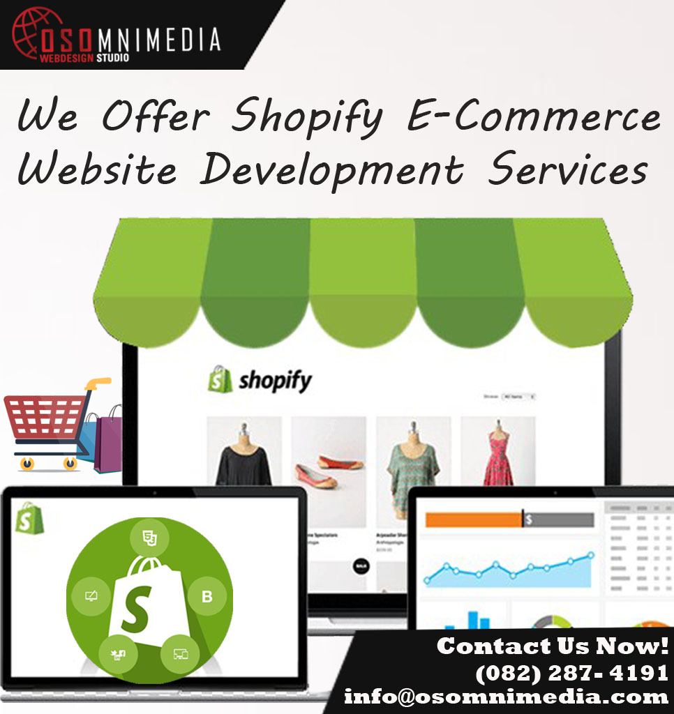 Sell Your Products Online With A Customized Shopify Store in