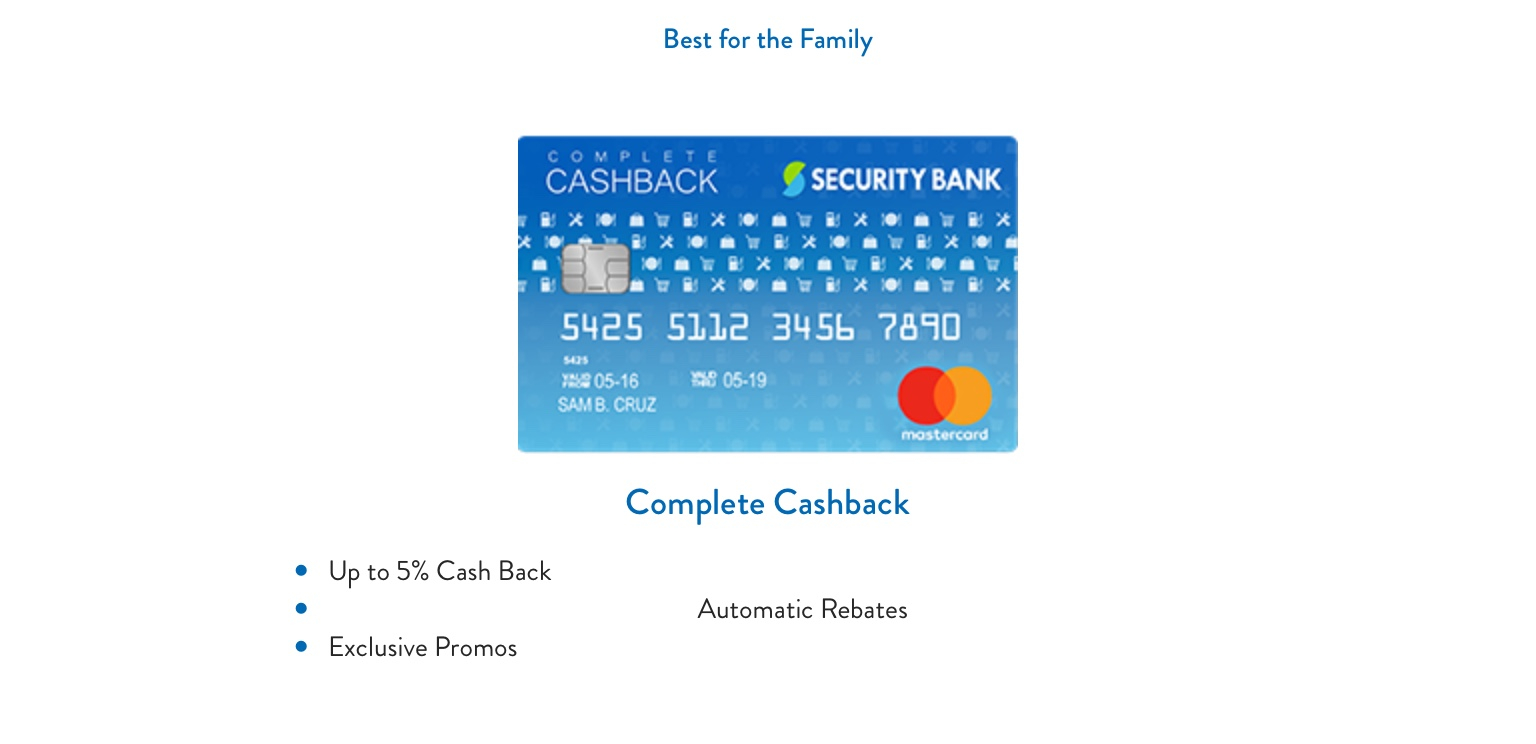 SBCC Security Bank Cards (Sinulid 3)   FAQ p 1 — Personal
