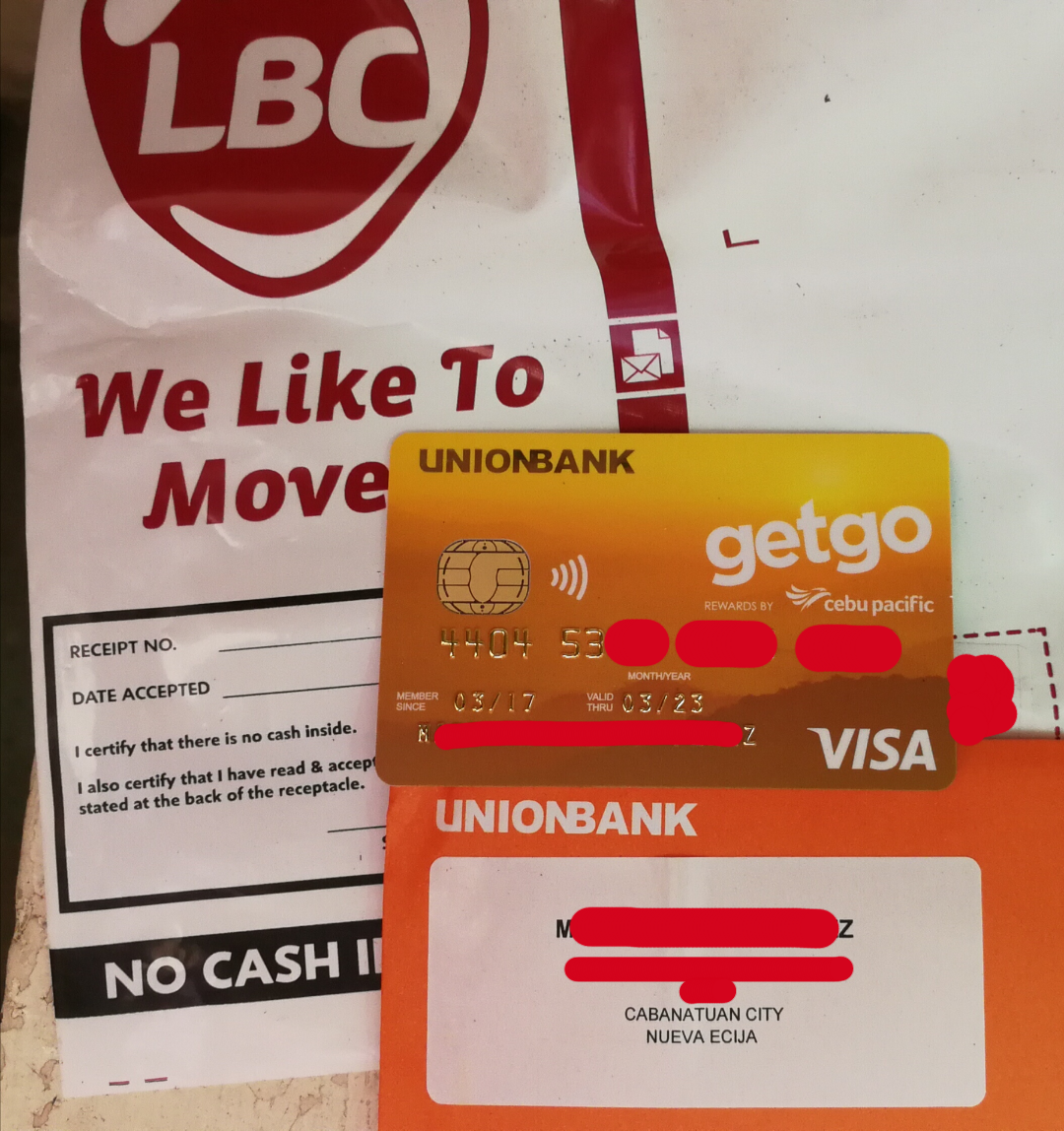 bank sa credit card application status