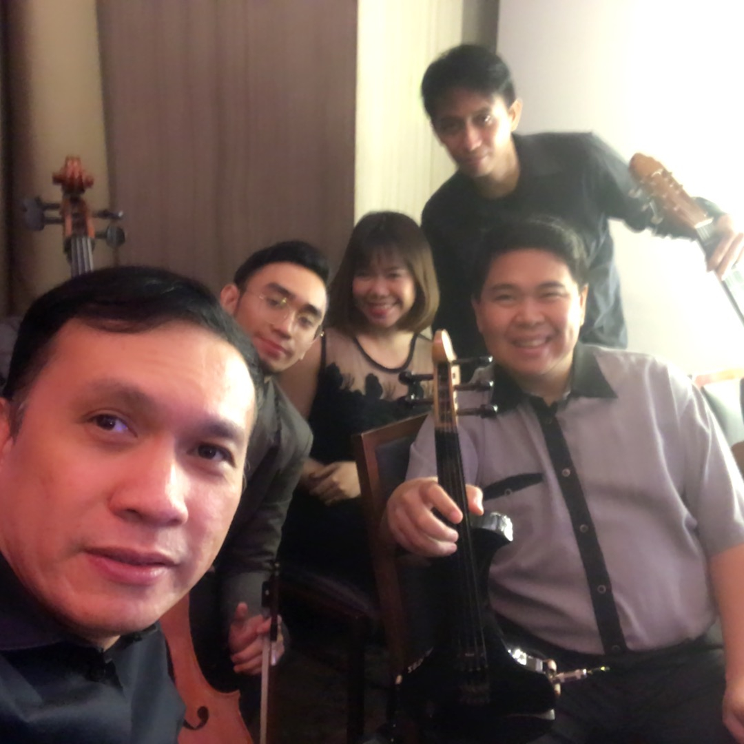 Musicians String Quartet and singers for hire in Manila