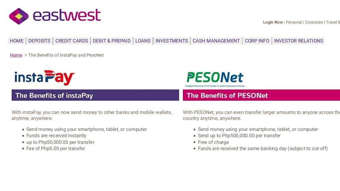 EFT e-Fund Transfer Schemes (GrabPay, GCash, InstaPay, PayMaya